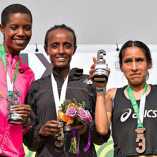 Maraton ganadoras rama femenil