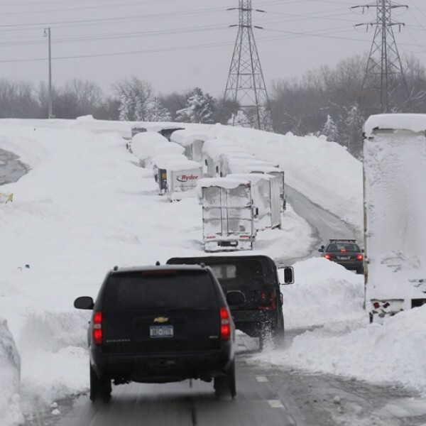 Buffalo, Nueva York, nieve, tormenta