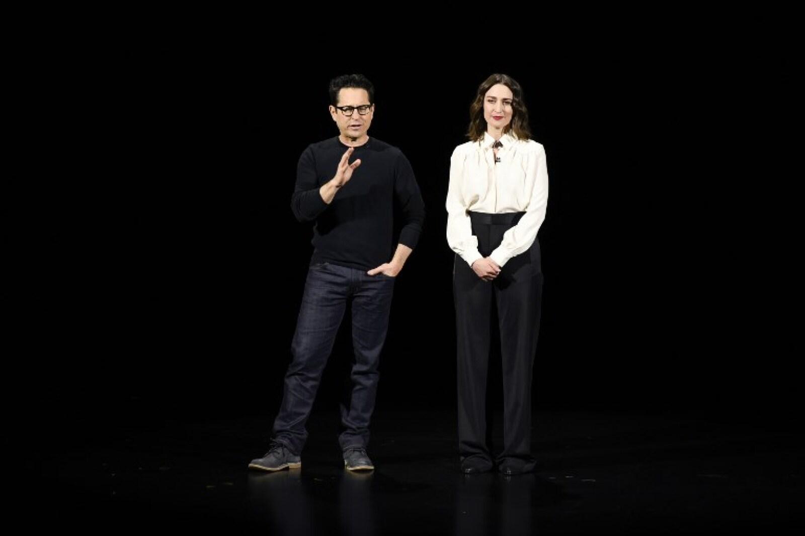 J.J Abrams y Sarah Bareilles