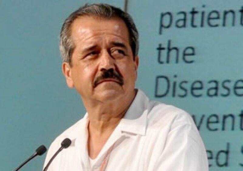 José Ángel Córdova, secretario de Salud mexicano. (Foto: NTX)