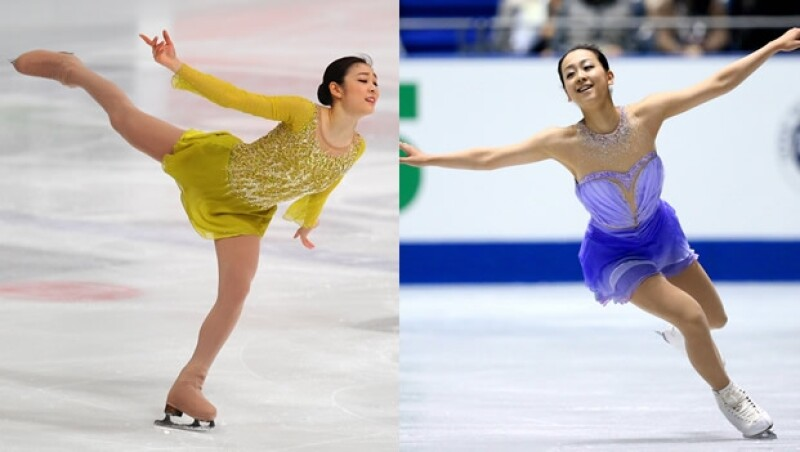 kim yu na mao asada patinaje artistico sochi