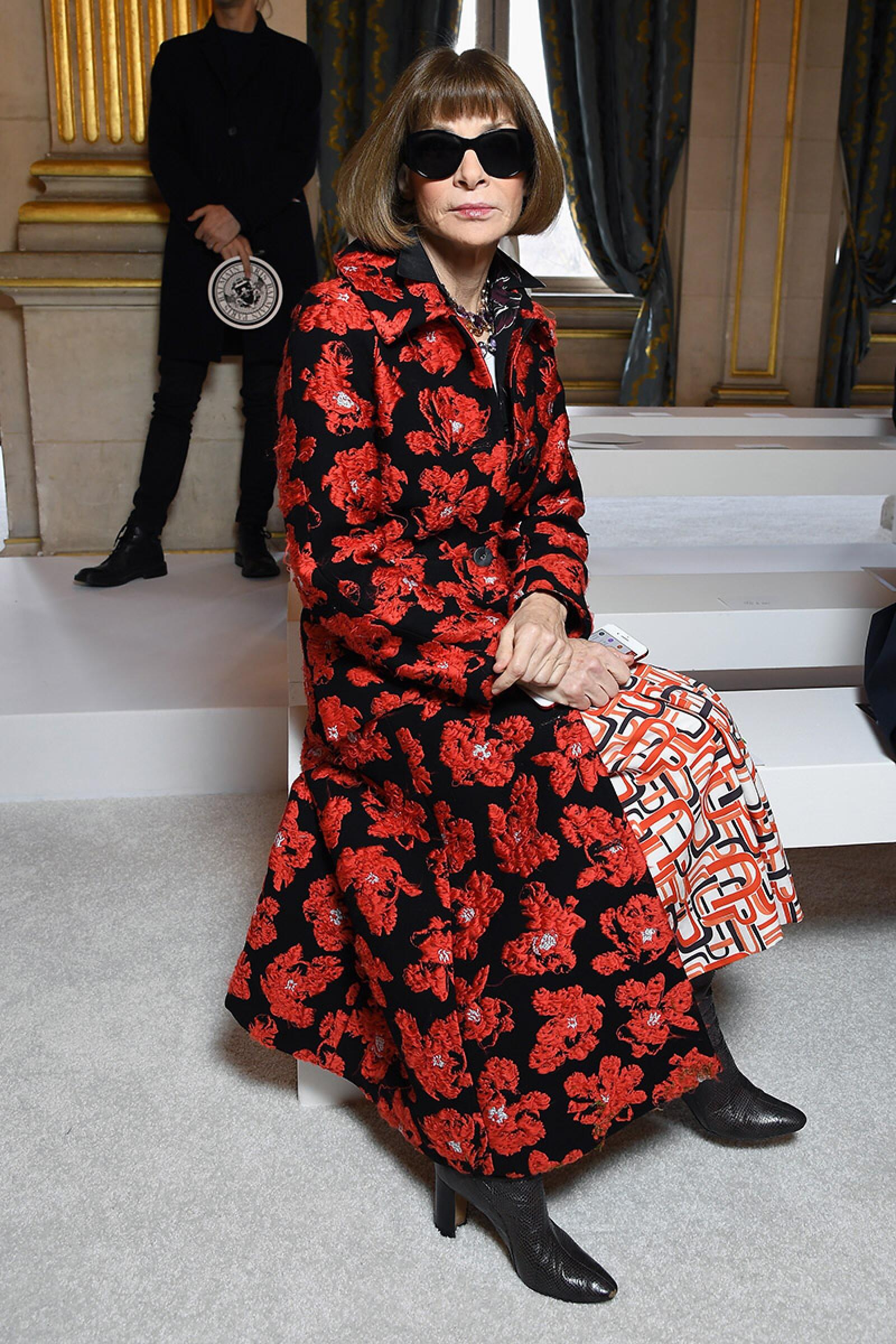 Balmain : Front Row - Paris Fashion Week Womenswear Fall/Winter 2018/2019