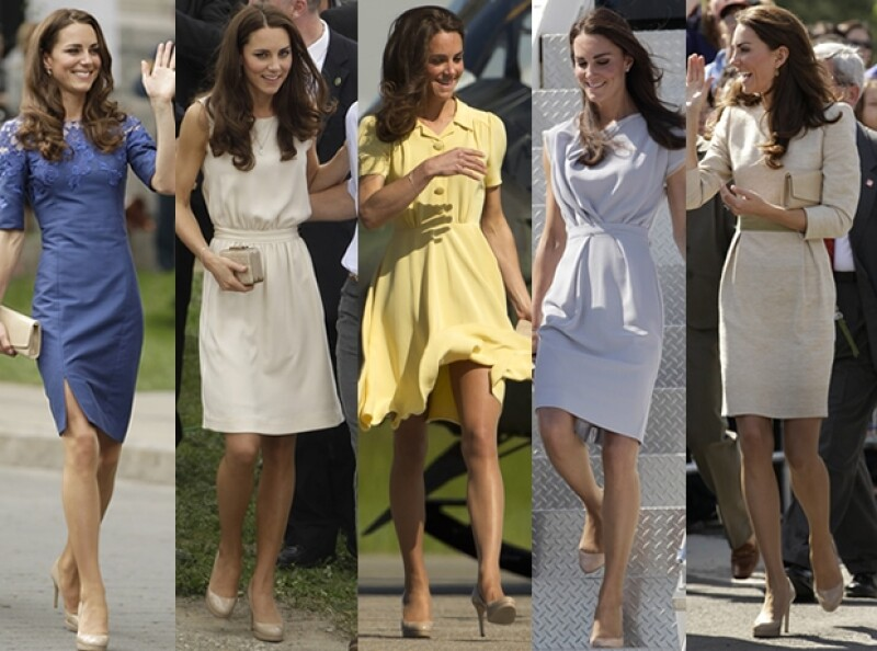 En su gira por Estados Unidos y Canadá, Kate los usó casi diario.