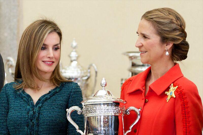 Letizia e Infanta Leonora