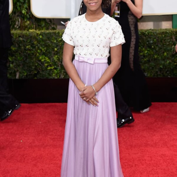 Quvenzhané Wallis en Armani Junior.
