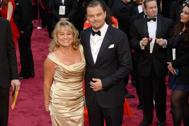 Leonardo y su madre, Irmelin Indenbirken.