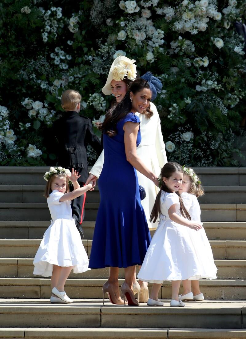 Mini damas de honor de Meghan y Harry