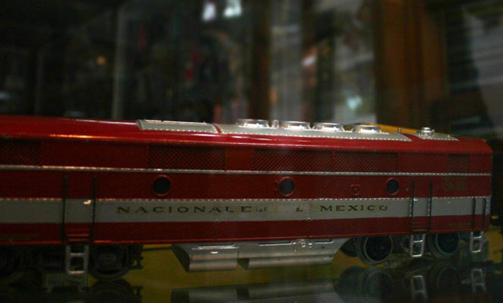 La Locomotora eléctrica fue hecha 100% en México por un pequeño fabricante.