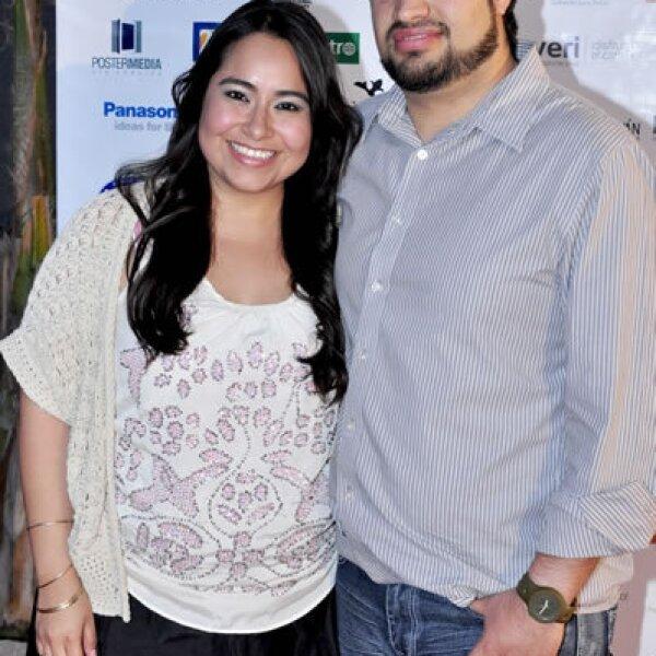 Rocío García y Omar Hernández