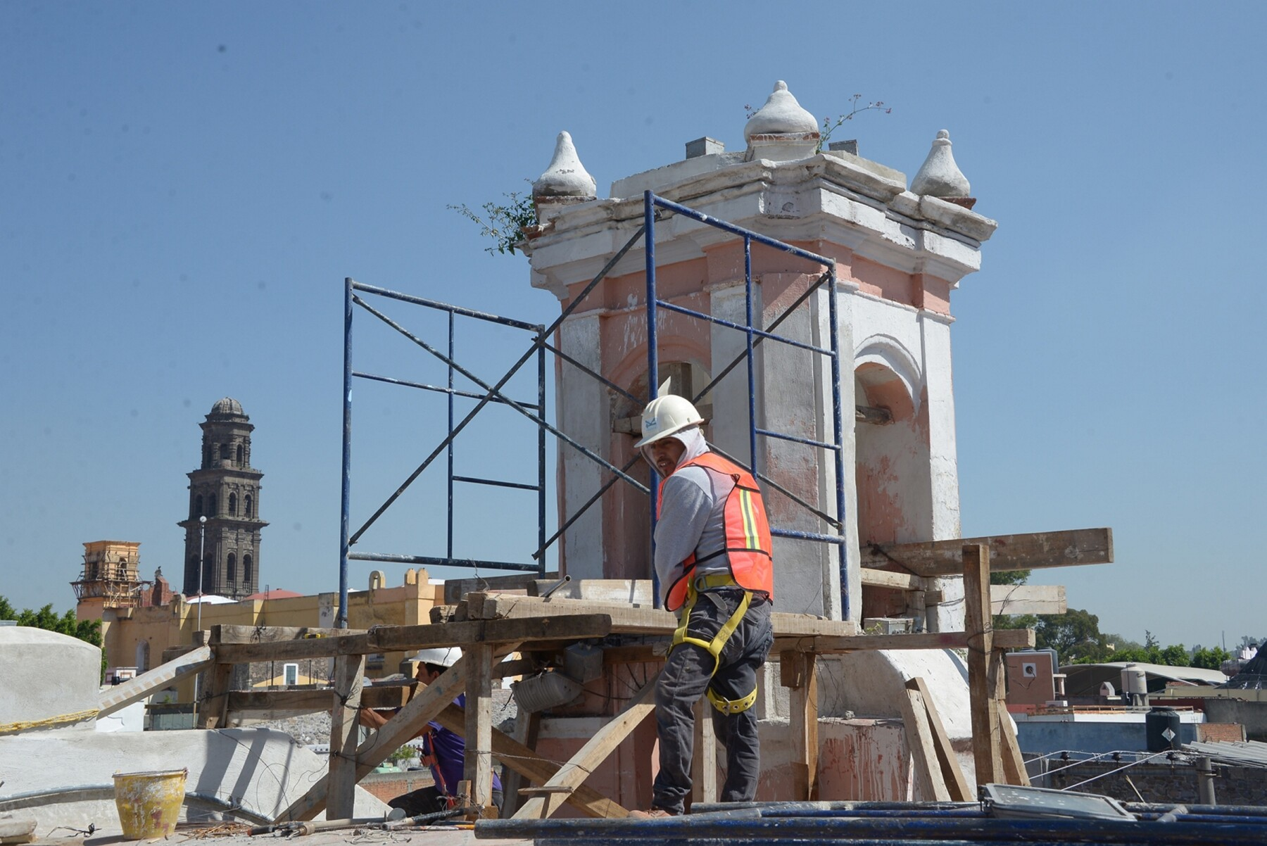 Avanza restauraci�n de inmuebles hist�ricos en Puebla