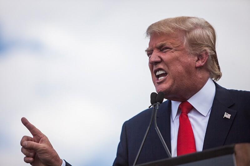 El aspirante a la candidatura republicana a la presidencia de Estados Unidos descalificó al presidente de la nación y criticó sus estrategias política y militar sobre Siria.