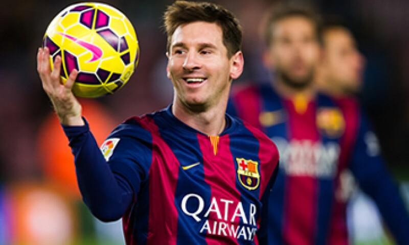 Messi tiene el título del máximo goleador de la Liga. (Foto: Getty Images)