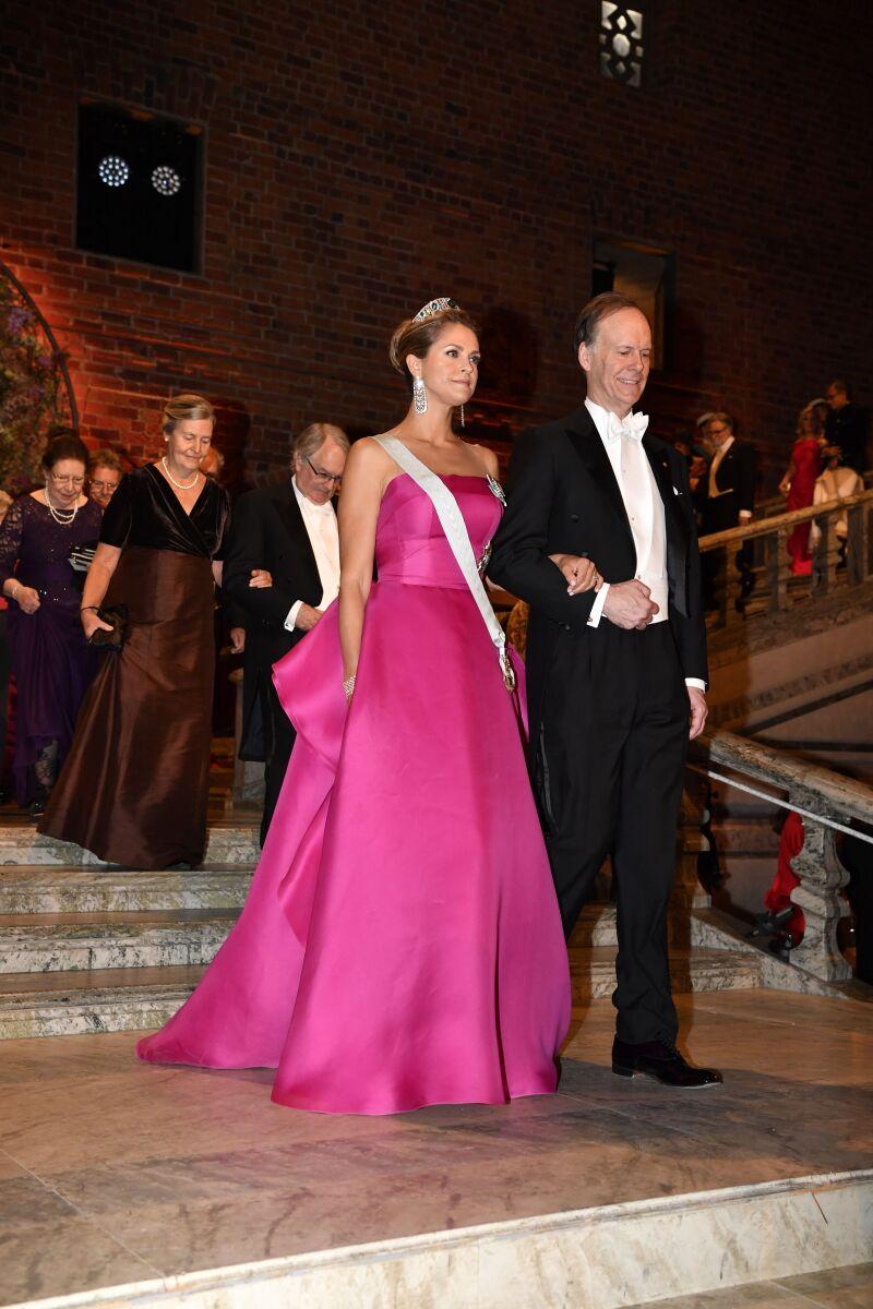 Princesa Magdalena y William Kaelin Jr