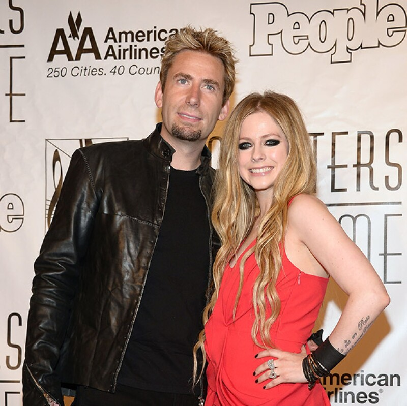 La cantante dio a conocer hoy que se separa del integrante del grupo Nickelback, tras dos años de matrimonio.