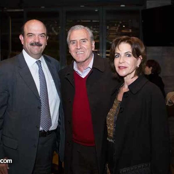 Carlos Acedo,Carlos Albert y Guillermina Celorio