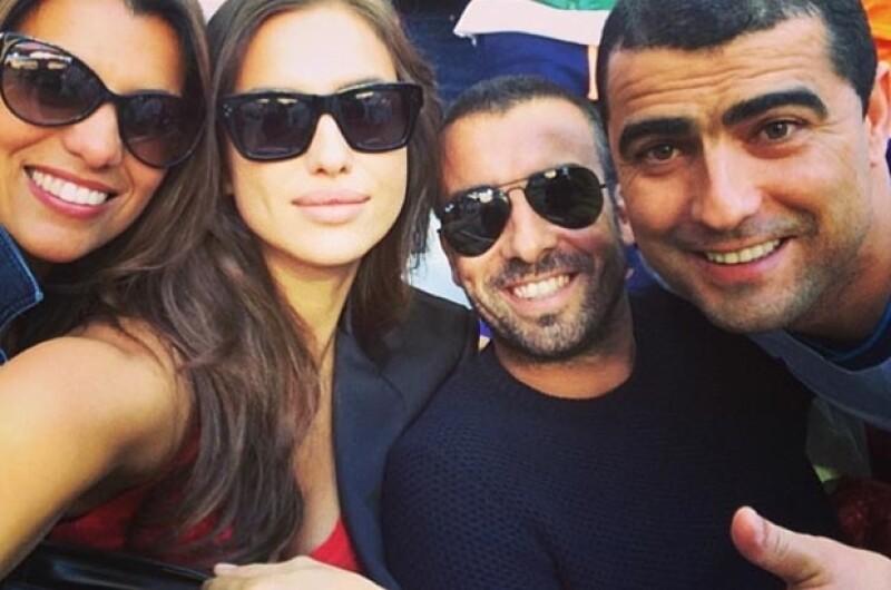 El jugador del Real Madrid levantó la copa, anotó un penal, se quitó la playera para festejar y tuvo el apoyo de Irina Shayk, su guapa novia en el estadio en todo momento.