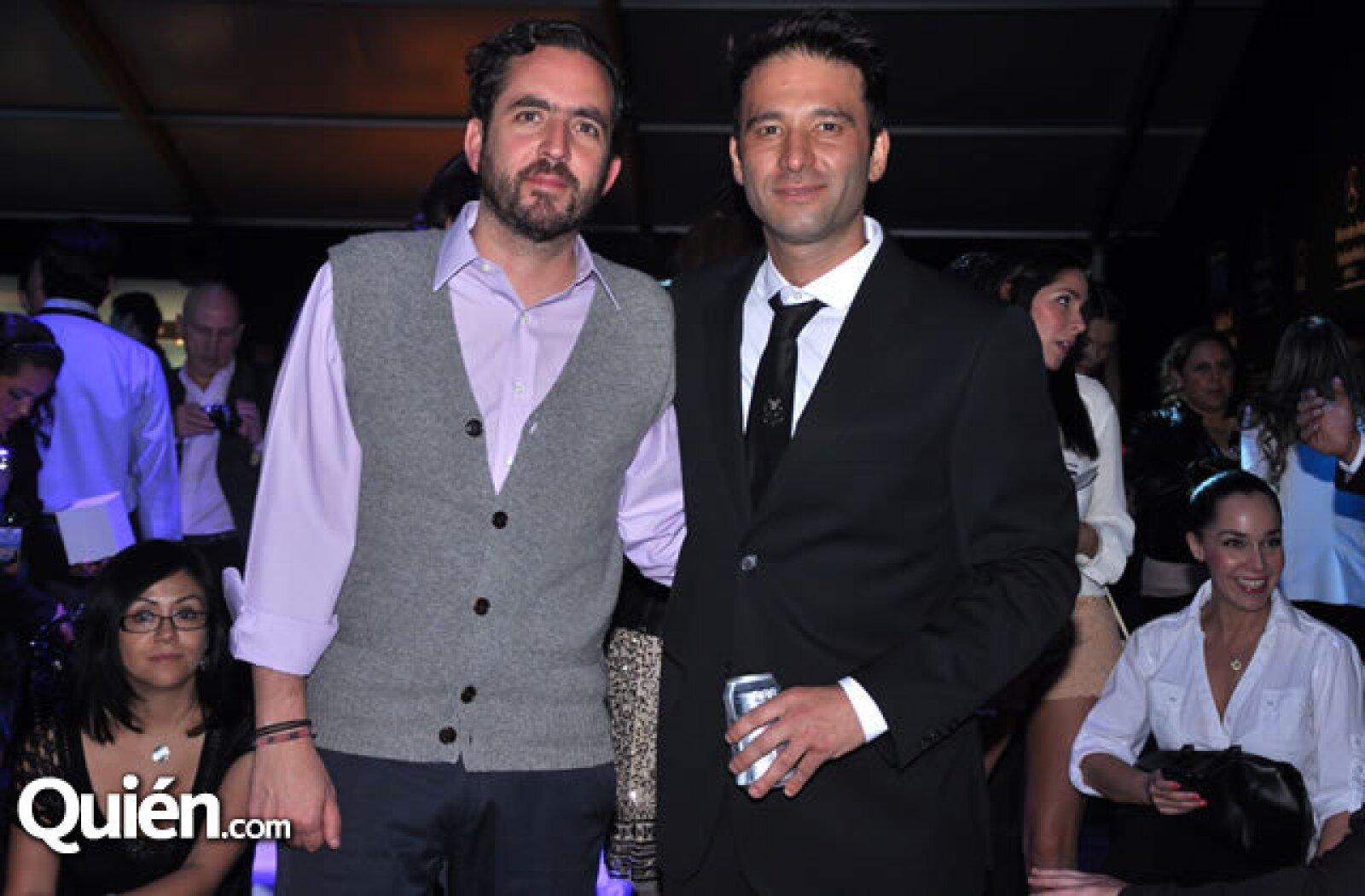 Santiago Lebrija y Cory Crespo