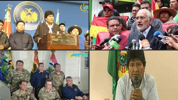 Crónica de una renuncia, los últimos días de Evo Morales como presidente