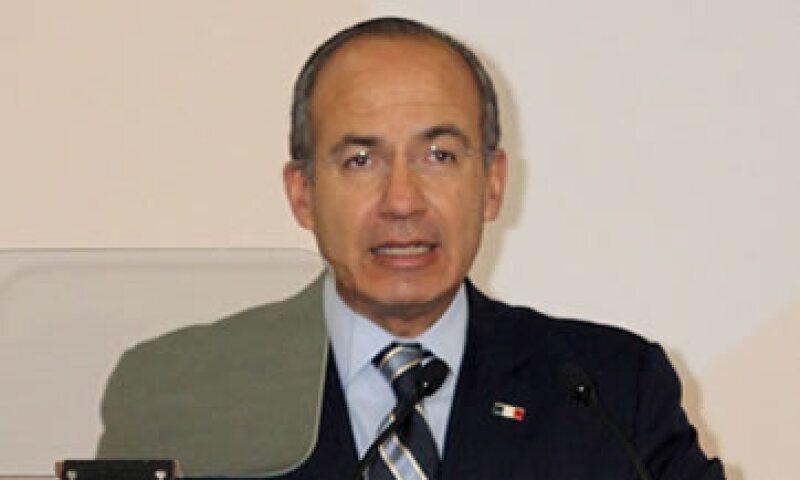 El presidente Felipe Calderón pidió al FMI a que tome un rol más decidido en la crisis económica de Europa. (Foto: Notimex)