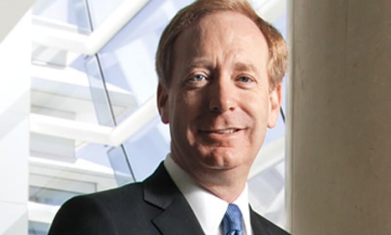 Brad Smith, VP de Microsoft, quiere ver más acuerdos entre empresas y menos demandas. (Foto: Gilberto Contreras)