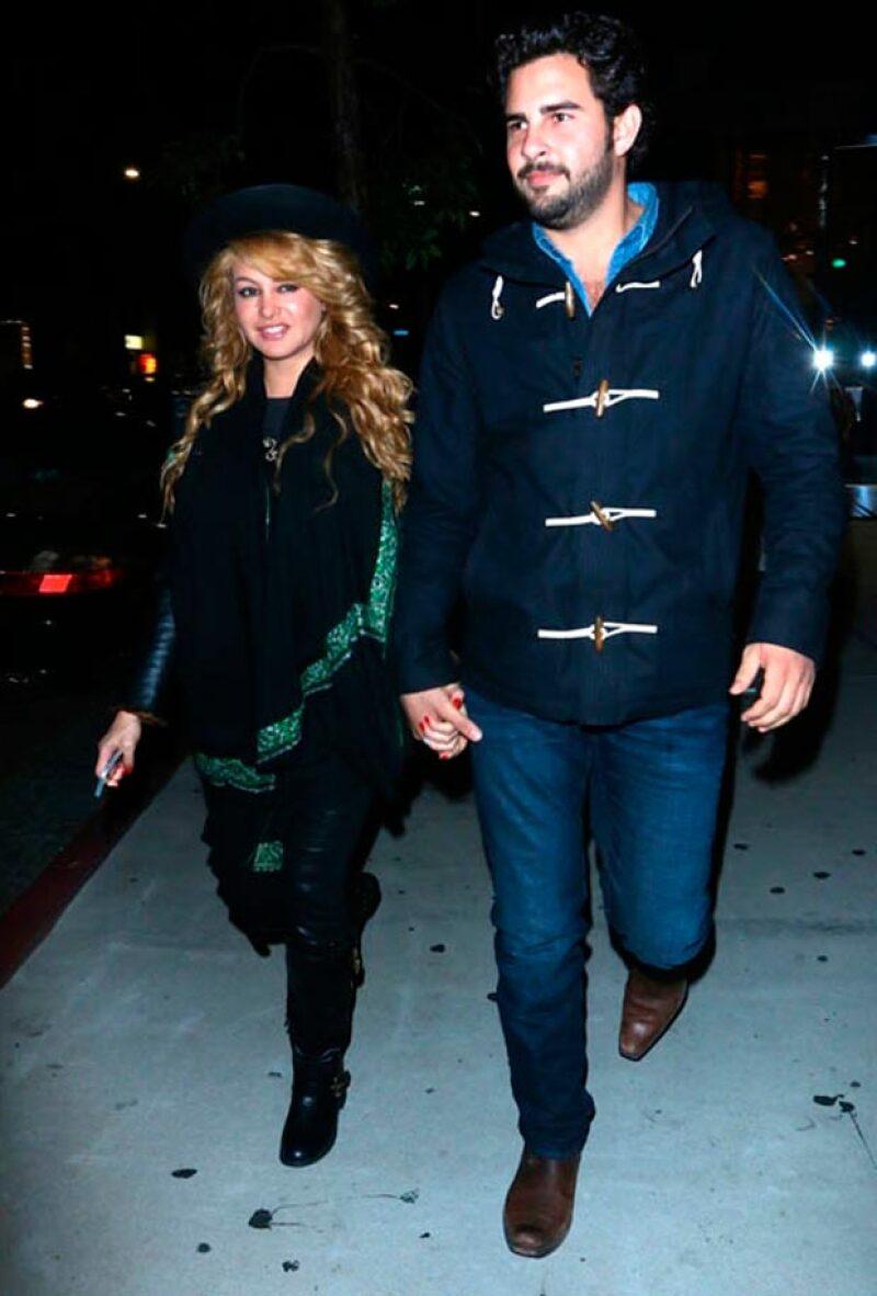 La cantante ha pasado toda una semana en su casa de Miami conociendo a los hijos de su actual pareja.