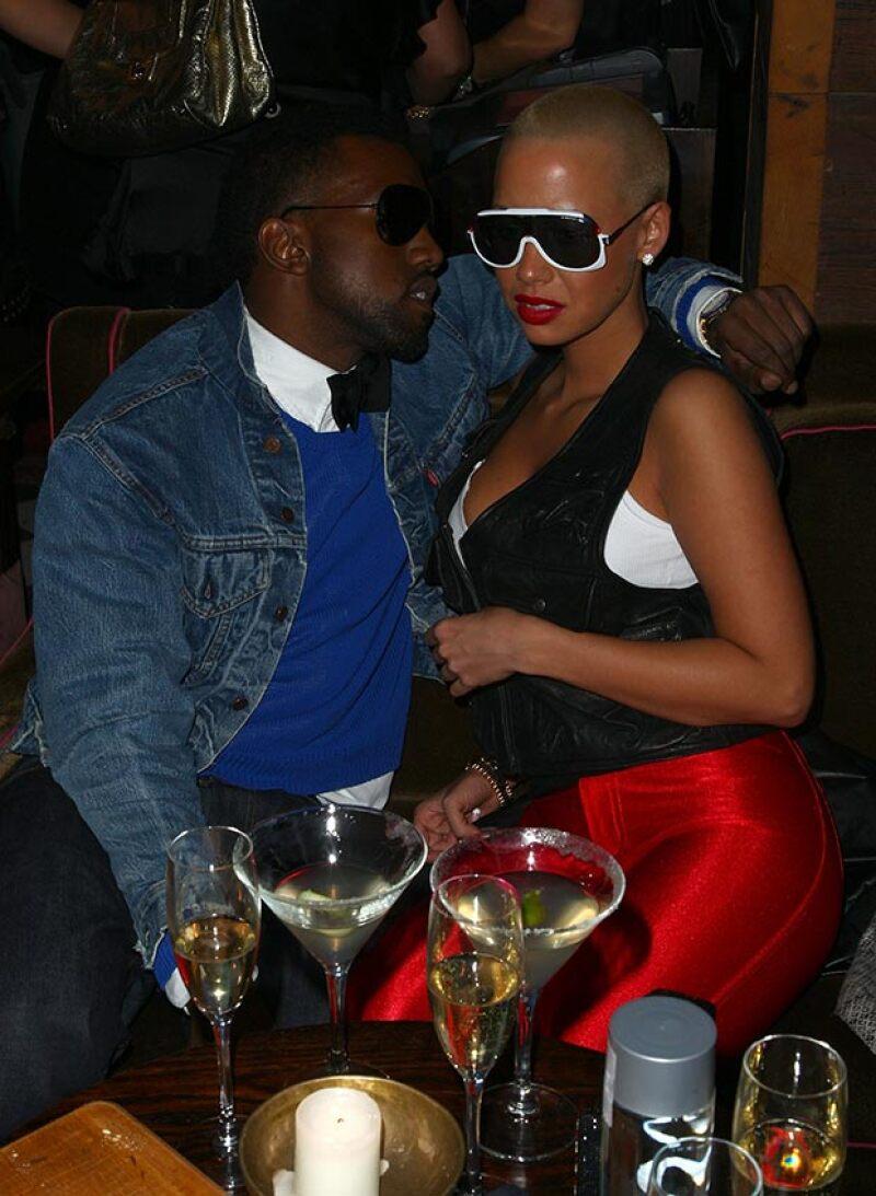 Amber reveló detalles de su vida sexual con Kanye, mismos que él negó.