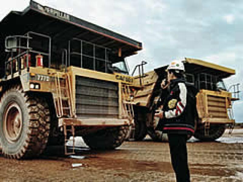 Un vistazo a la mina La Herradura, que explota Peñoles en Sonora. (Foto: Gilberto Contreras)
