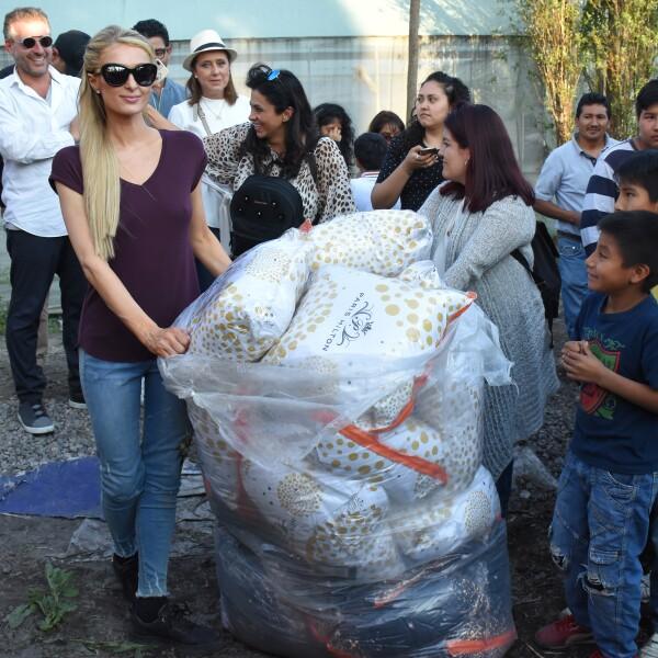Paris Hilton visita México