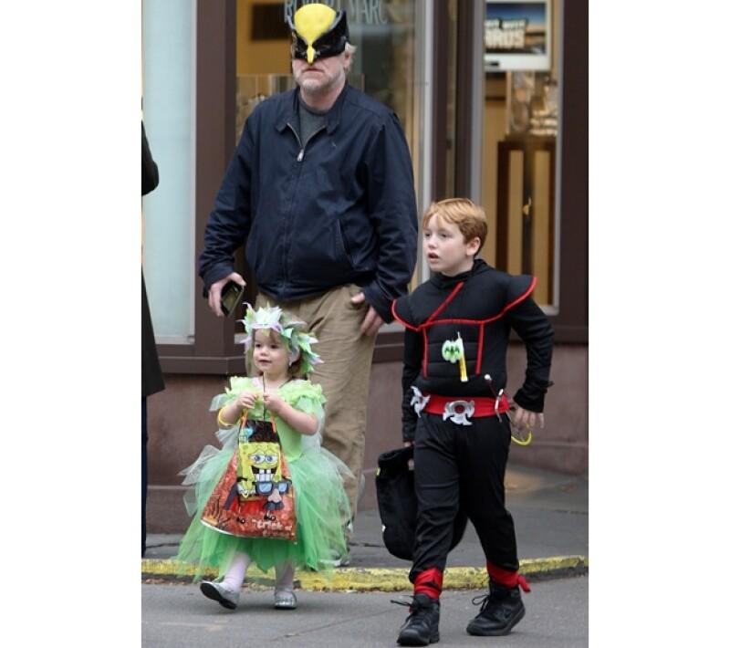 Philip era un gran admirador de la ciudad, era común verlo caminando con sus hijos o andando en bicicleta por las calles neoyorquinas.