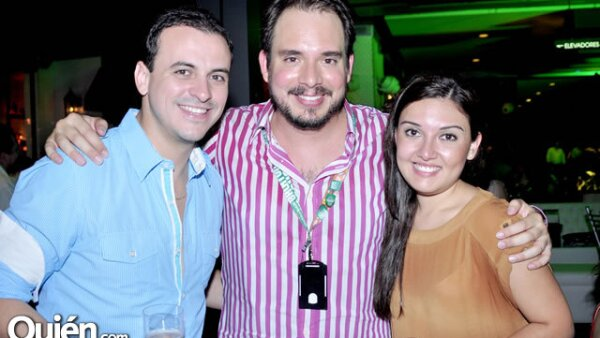 Ary Arreola, Dany Osuna y Angie Cruz