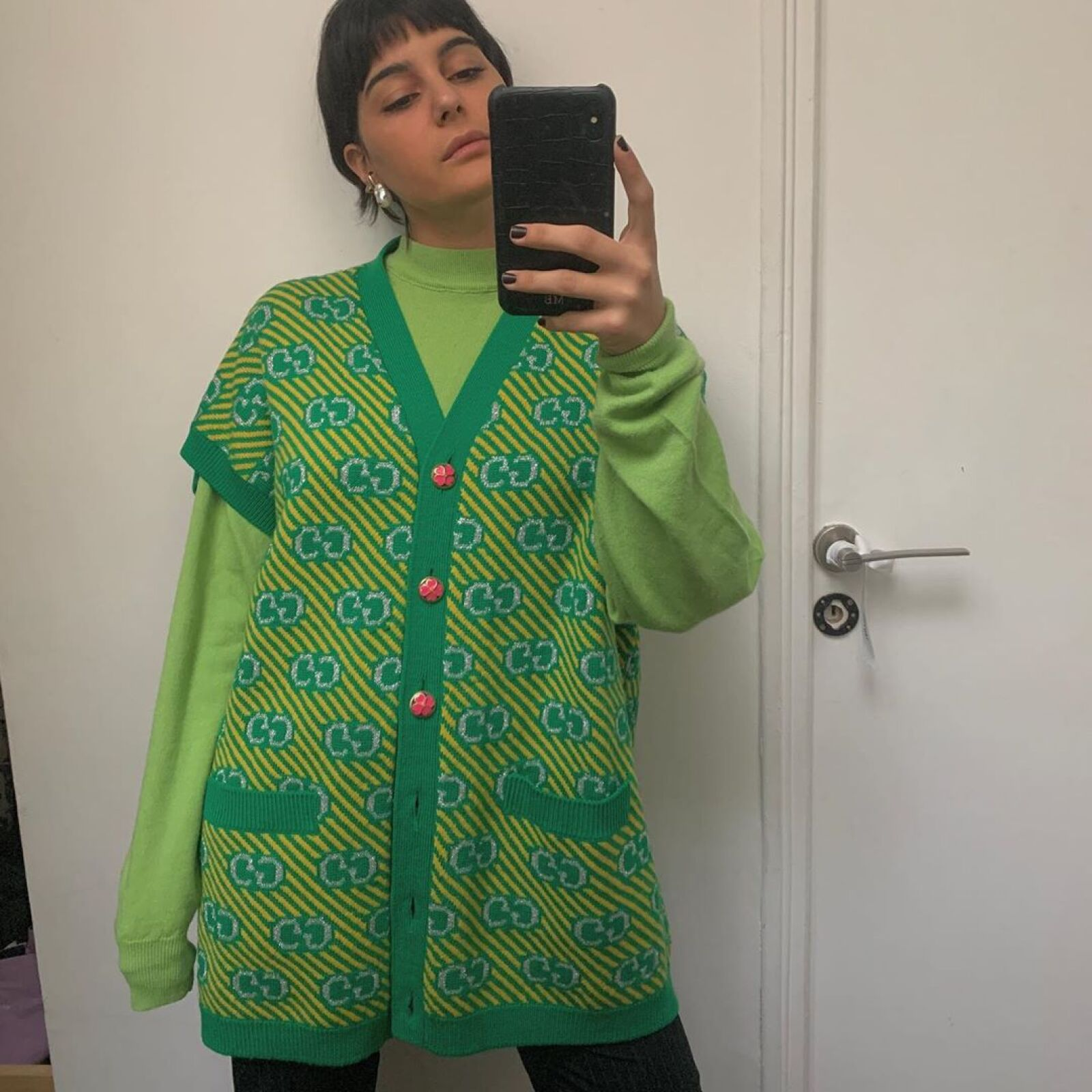 Amamos el suéter Gucci de Maria Bernard