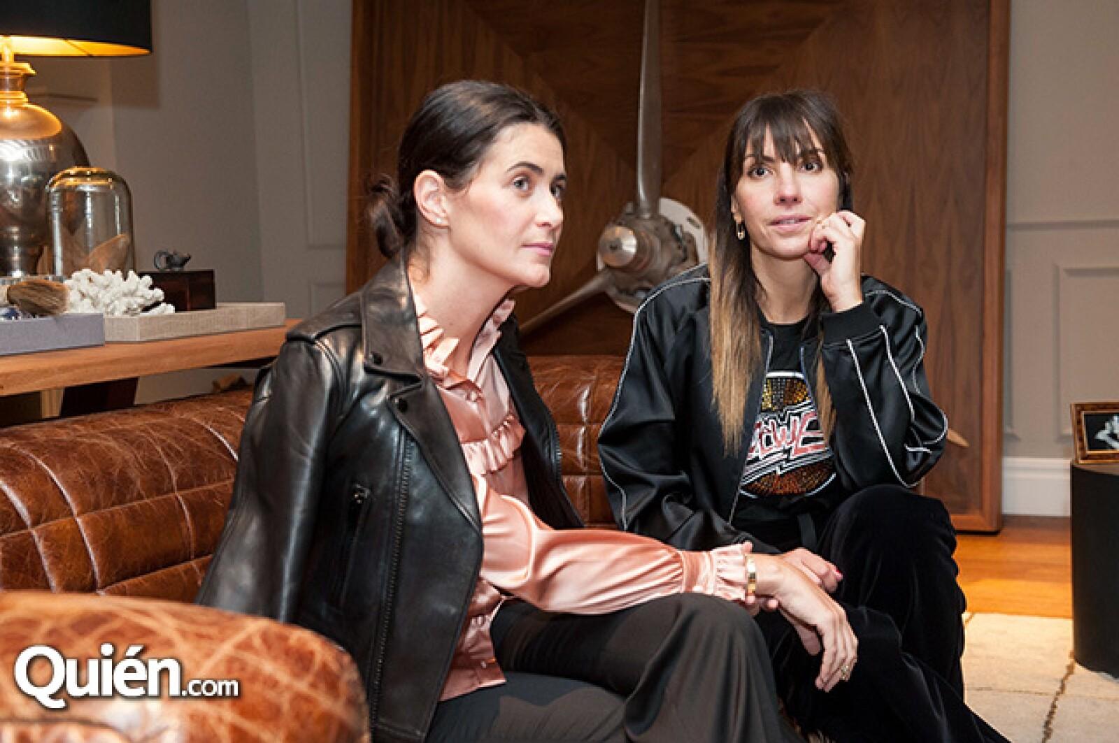 Joanna Faría y Venus Fabbricatore
