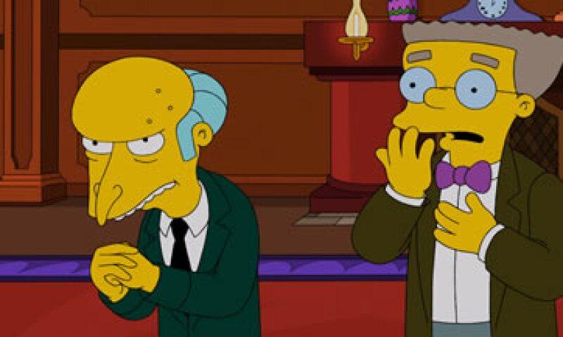 Todo parece indicar que la noticia no es tan excelente para el Señor Burns. (Foto: Getty Images )