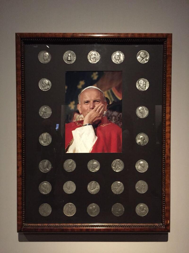 Monedas del Papa Juan Pablo II