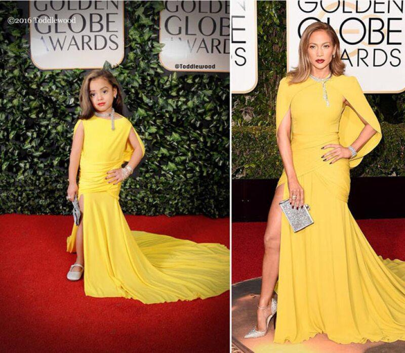 Algunos de los looks como los de Jennifer Lopez u otras también fueron imitados.