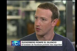 """""""Tenemos la responsabilidad de proteger los datos"""", admite Mark Zuckerberg a CNN"""