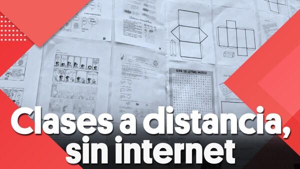 #Clip | Clases a distancia, sin internet