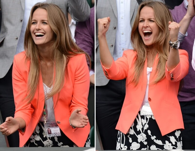 Su nombre es Kim Sears, y también brilló en Wimbledon.