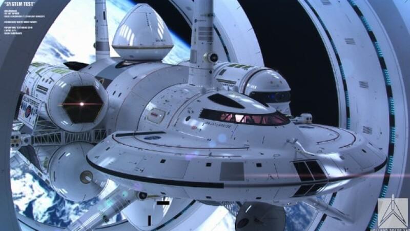 La nave que podría viajar más rápido que la velocidad de la luz, a 186,000 millas por segundo