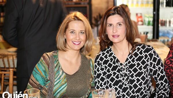Verónica Villareal y Lydia González