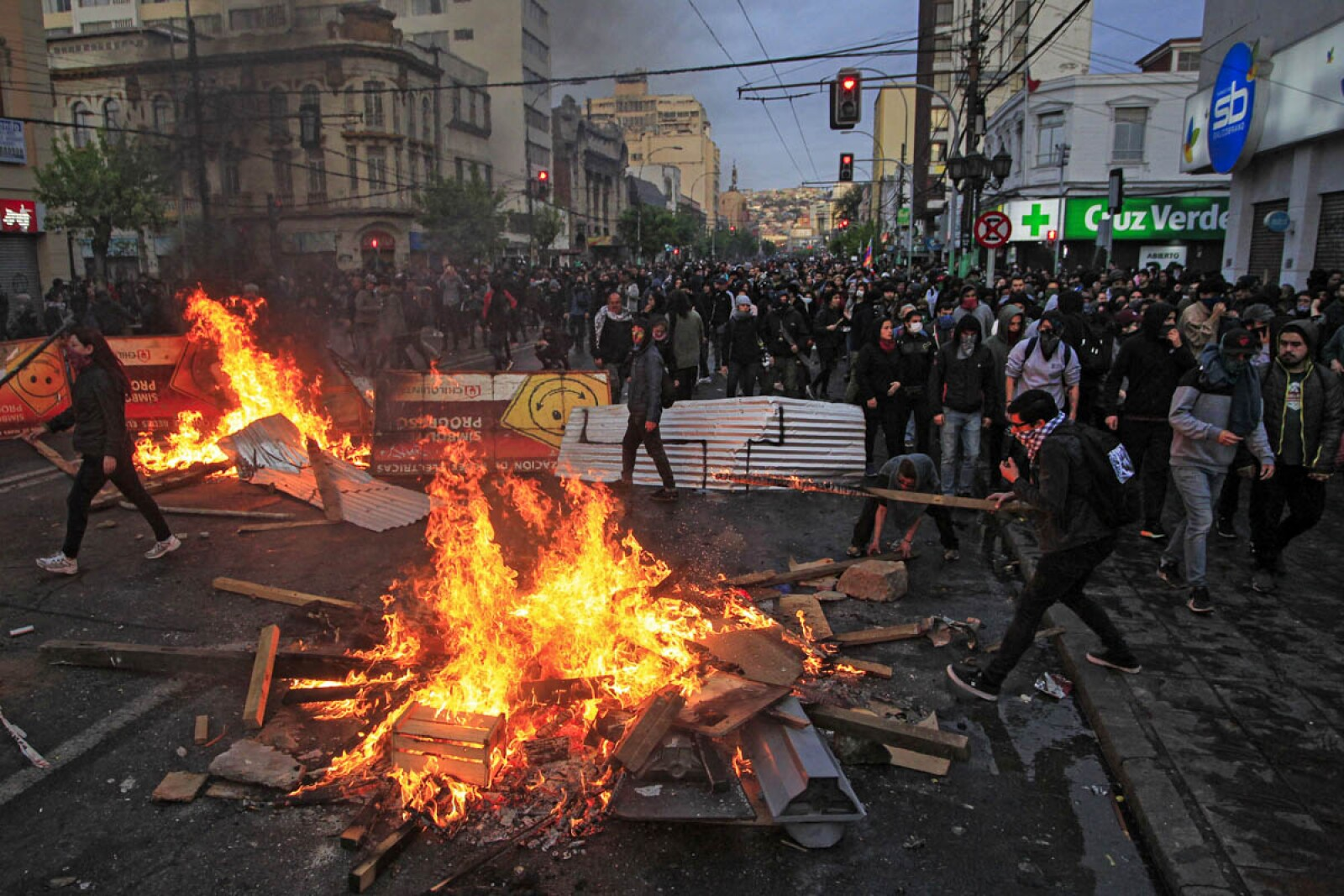 CHILE-TRANSPORT-METRO-PROTEST