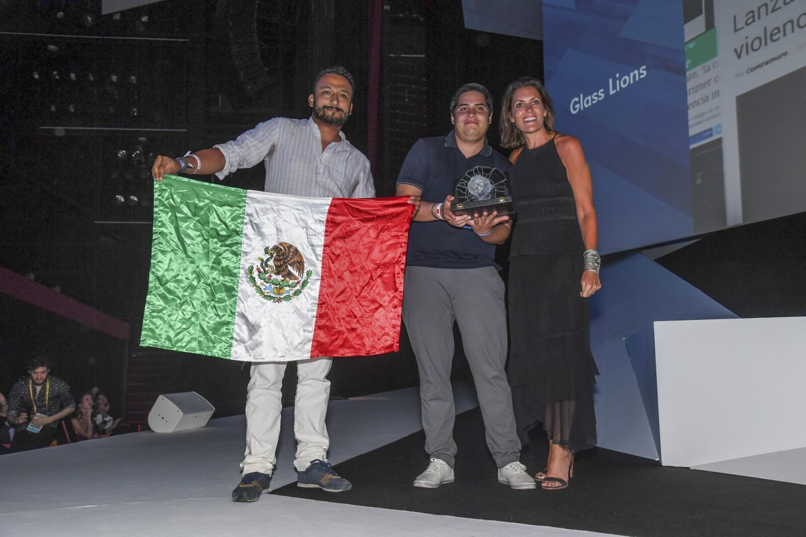 Triunfo de México.