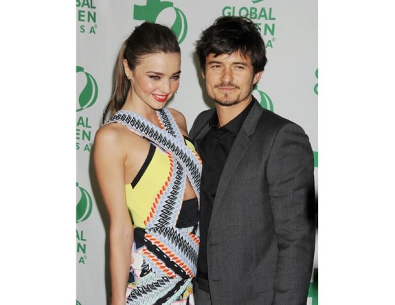 Miranda y Orlando se separararon a finales de 2013.