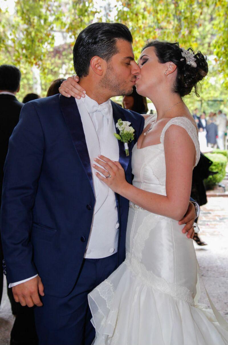 Ni Fátima ni Héctor habían visto sus respectivos outfits hasta el momento de la boda.