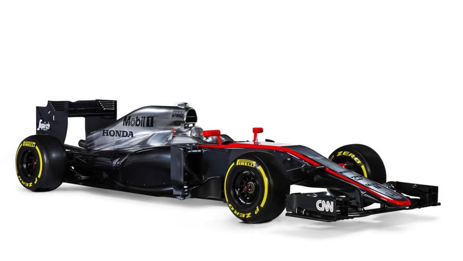 McLaren auto lado