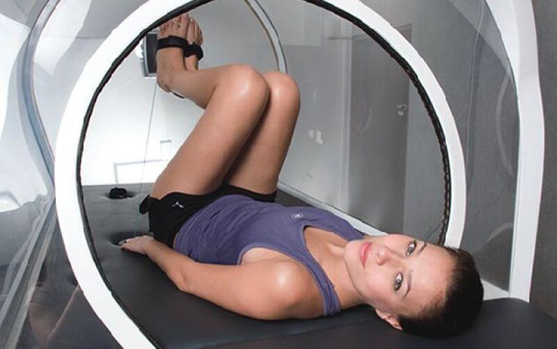 VALE POR OCHO. 30 minutos en las cápsulas térmicas equivalen a cuatro horas de gimnasia tradicional.