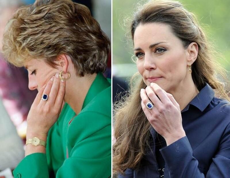 Kate volvió pupular este anillo así que se realizaron replicas de él por todo el mundo..