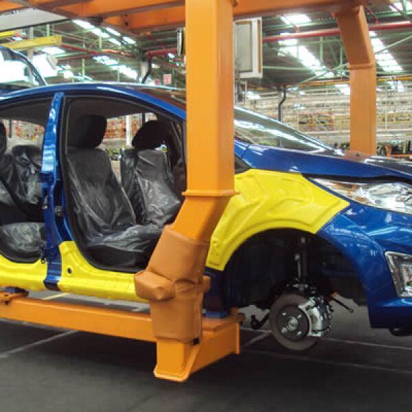 A agosto de 2011, más de 2.3 millones de vehículos Ford se han fabricado en la línea de Cuautitlán.