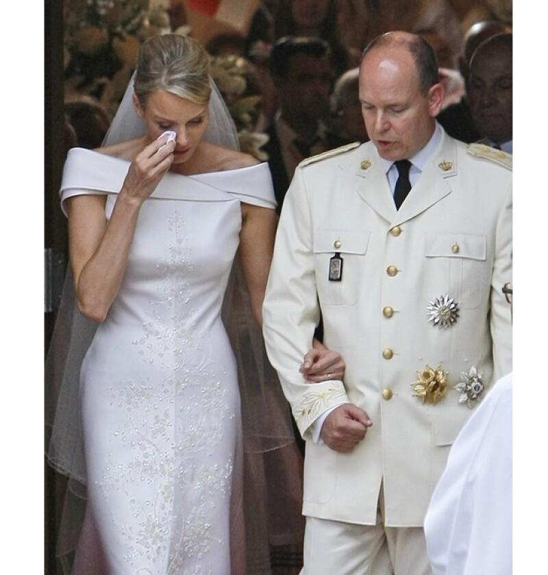 Cherlene y Alberto se casaron en 2011, aunque rumores dicen que no es la relación más feliz.