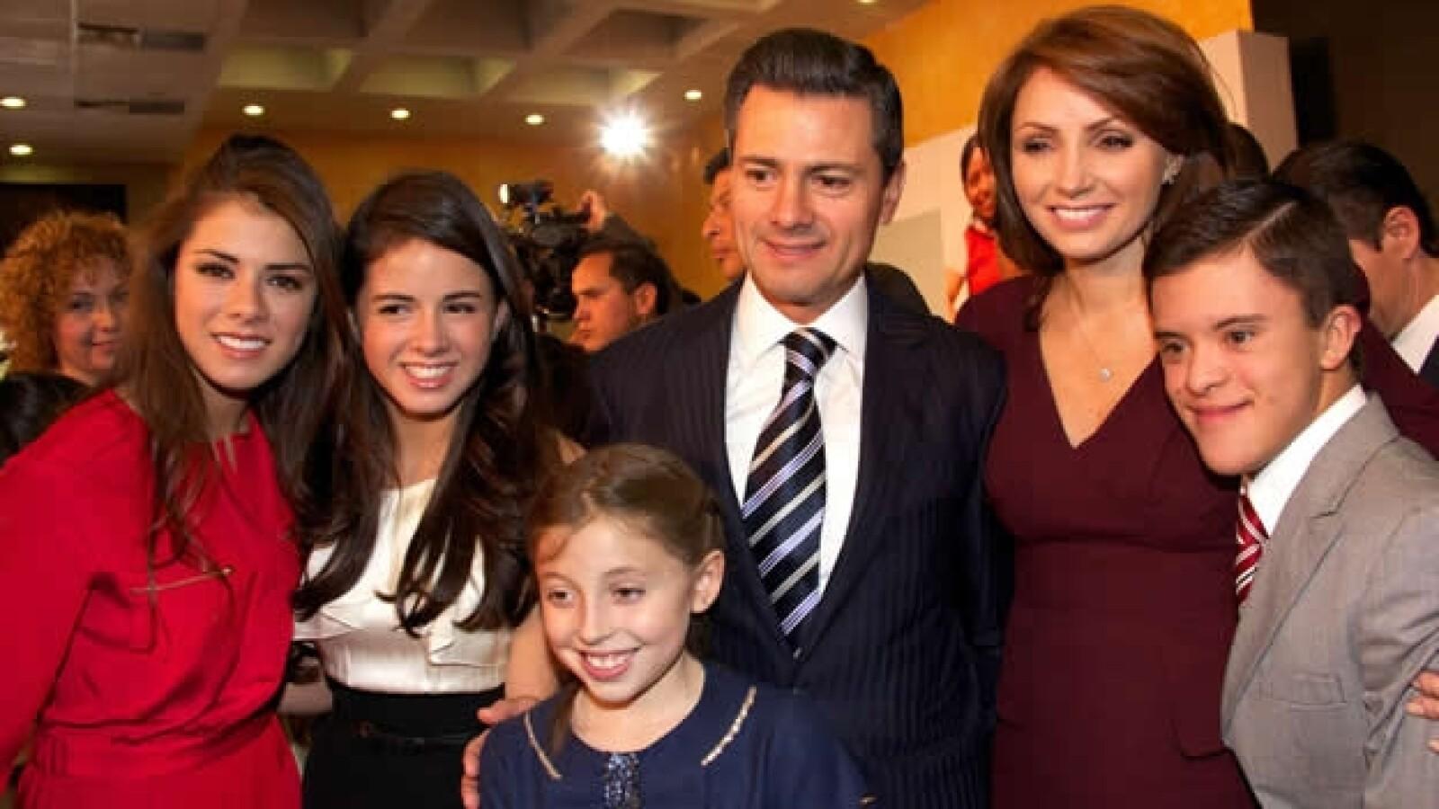 Familia presidencial  6 de marzo